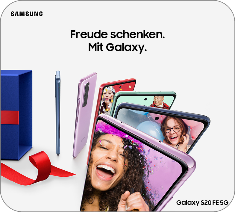Samsung Holiday Campaign – S20FE